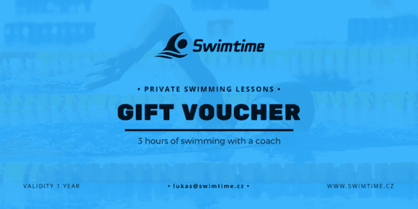 Gift voucher private swimming lessons